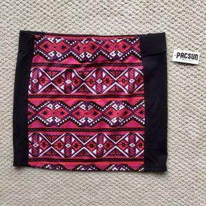 NWT Pacsun Nollie Tribal Body-con Skirt